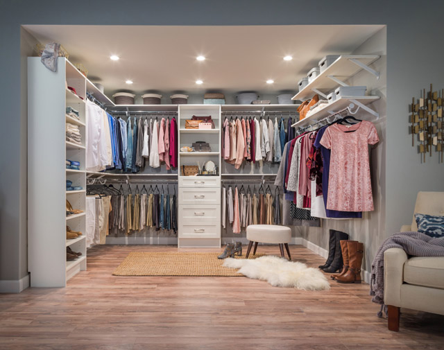 Combine The Functionality You Need With The Look You Want By Selecting  Either A Laminate/wood Solution Or A Wire Solution. Laminate/wood Closet  Solutions ...