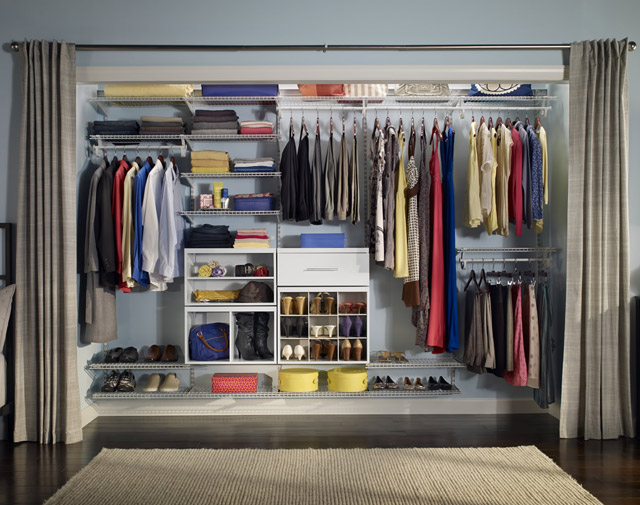 Gentil Combine The Functionality You Need With The Look You Want By Selecting  Either A Laminate/wood Solution Or A Wire Solution. Laminate/wood Closet  Solutions ...